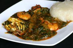 Gboma dessi - riz sauce feuille - Traiteur Métisse