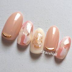 Pin by Rosaline Morejon on Nail designs in 2020 Manicure Nail Designs, Nail Manicure, Stylish Nails, Trendy Nails, Japan Nail, Korean Nail Art, Nail Art Designs Videos, Kawaii Nails, Japanese Nail Art