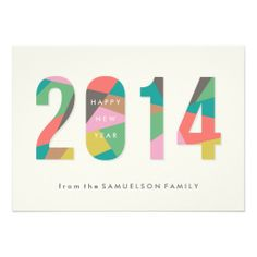 Prism New Year New Years Card Amber Barkley