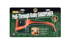 AccuSharp Pull-through Blade Sharpener, Orange Green - Endless Box - 3