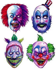 Horror/Halloween masks
