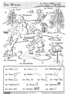 winter in den bergen | ausmalbilder winter, kostenlose ausmalbilder, vorschule winter