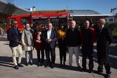 El alcalde Manuel Robles ha visitado el Parque Municipal de Bomberos que durante la mañana de hoy celebra Jornadas de puertas abiertas con charlas talleres demostraciones...
