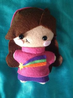 Hey, I found this really awesome Etsy listing at https://www.etsy.com/listing/210228574/gravity-falls-plush-mabel-pines-made-to