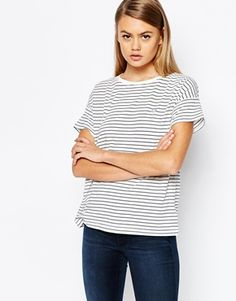 Fred Perry - T-shirt rayé