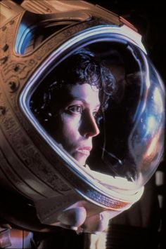 Sigourney Weaver as Ellen Ripley... we all know how great it was .)