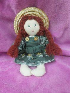"Anne of green gables plush doll 9"" Avonlea Traditions Toy  #AvonleaTraditionsToy #Dolls"