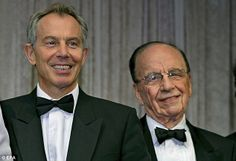 GIRLS WILL BE GIRLS: Tony Blair 'was about to tell Rupert Murdoch of Wendi Dang meetings - then daughters burst in on them' & daughters http://www.pinterest.com/pin/461056080574162951/