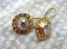 Beautiful earrings from Mansoor and Gore jewellers