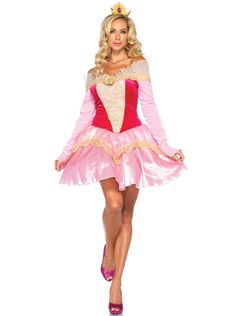 Disney Princesses Princess Aurora Adult Costume from Buycostumes.com