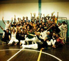 Se distanza di anni, volessi riassumere la mia Capoeira in poche parole, direi che la Capoeira sono le persone. @APdesignBoards