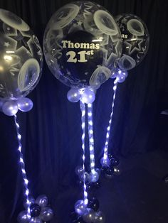 Super Sparkly Balloons for Thomas Birthday. Special Events, Special Occasion, 21st Birthday, Corporate Events, Balloons, Birthdays, Sparkle, Future, Party