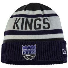 35a201ea500 Sacramento Kings New Era Current Logo Biggest Fan 2.0 Cuffed Knit Hat -  Black -  22.99