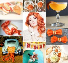 Tangerine Wedding Inspiration!