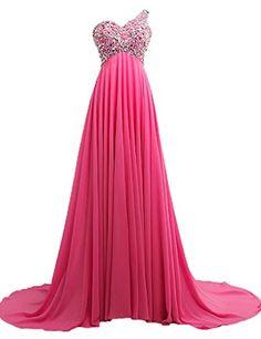 ASA A-line Open Back One Shoulder Chiffon Long Evening Gowns Prom Dresses Pink US 6 ASA http://www.amazon.com/dp/B00UR2QIDO/ref=cm_sw_r_pi_dp_p6zpvb057ZD39