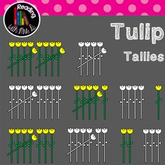 Are you creating resources this Spring for your classroom or your TPT store?  If you're looking for a simple math clipart, consider these Tulip flower tally marks for numbers 1-10.  Both Colour/color and b&w versions are included!  Please use enclosed button and link to my store when using.  ***************************** Before you pass on this product, if it's not quite what you're looking for, this is your chance to make a Custom Request!