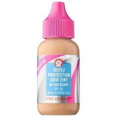 Hello FAB Triple Protection Skin Tint with Goji Berry SPF 30 (Medium) >>> You can get more details by clicking on the image. (This is an affiliate link) Mascara, Eyeliner, Dior Addict, Vaseline, Morphe, Anastasia Beverly Hills, Bobbi Brown, Maybelline, Beauty Care
