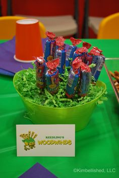 My Singing Monsters birthday party.  Table Cards.   Now as a FREE PDF DOWNLOAD!