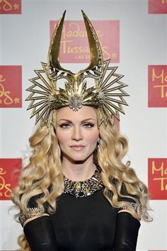 MADAME TUSSAUDS LAS VEGAS UNVEILS WAX FIGURE OF POP SUPERSTAR MADONNA