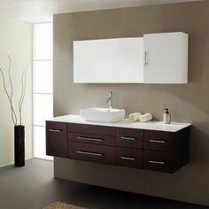 Virtu USA Justine UM-3050 59-in. Single Bathroom Vanity Set - UM-3050-S-WH-001, Durable