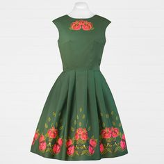 Chickadee Vintage Nouveau Dress