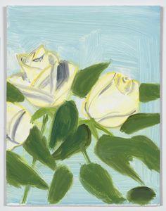 White Roses 1 Alex Katz