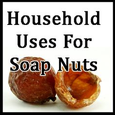 16.  household uses for soap nuts  #SpringCleaning @Erin Colman Nuts