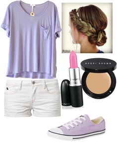 """Cute school outfit"" by jessicaanthony ❤ liked on Polyvore"