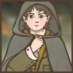 Frodo (ANIMATED GIF) by ullakko.deviantart.com on @DeviantArt