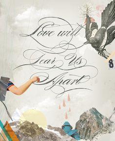 L.W.T.U.A (Love will tear us apart) Art Print
