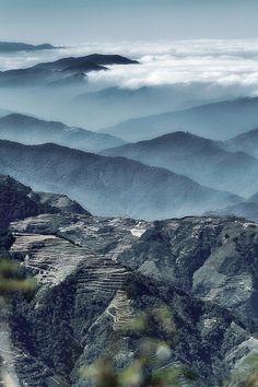 Nantou #Taiwan 南投 (Photo by Chi Wang). 放慢腳步,山水畫就在你眼前