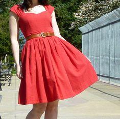 pretty dress pattern