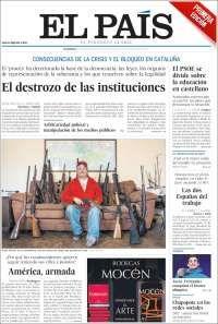2018-02-18  Periódico El País (España). Periódicos de España. Toda la prensa de hoy. Kiosko.net