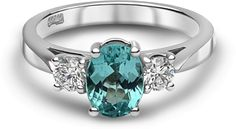 The 'Freya' ring includes one of the rarest stones on the planet - a paraiba tourmaline. Book a viewing of this exclusive Chalfen of London cocktail ring today.