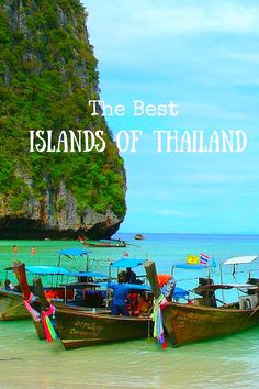 Our favorite Thai Islands. We asked several travel experts to help us discover the best Islands of Thailand - read their insider tips and find that quiet sandy beach, luxury escape or inexpensive Thai beach holiday of your dreams. Click to see the full list and pick your favorite. @venturists