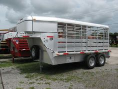 Livestock Trailers, Horse Trailers, Gates, Cattle Corrals, Trailer Plans, Ranch Life, Trailers For Sale, Outdoor Toys, Camping Ideas