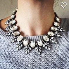 Spotted while shopping on Poshmark: Crystal rhinestone choker statement necklace! #poshmark #fashion #shopping #style #Jewelry