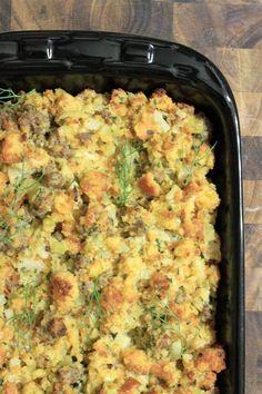 Thanksgiving menu - Cornbread Stuffing