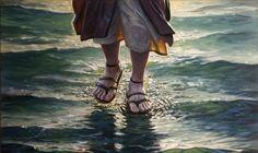 Jesus Walking On Wat