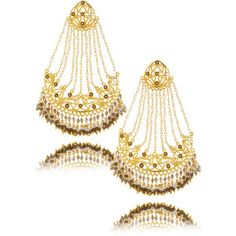 ISHARYA Passa Smoky Topaz Earrings