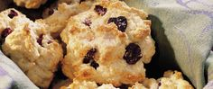 No kneading or rolling required for these easy-mix scones. The dough is dropped from a spoon just as if you were making cookies.