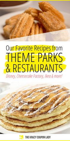 Stuck at home and looking for amazing recipes from your favorite theme parks and restaurants? The Krazy Coupon Lady has you covered- from Disney to Cheesecake Factory, Ikea Dole Whip Recipe, Cheddar Cheese Soup, Food Park, Good Food, Yummy Food, Homemade Snickers, Easy No Bake Desserts, Strawberry Desserts, Trifle