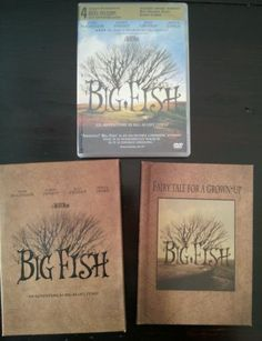 Big Fish DVD Collector Edition with Book Ewan McGregor Tim Burton Danny Elfman 043396008373 | eBay