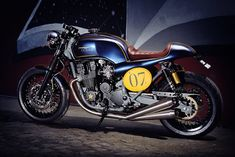ϟ Hell Kustom ϟ: Honda CB750 By It Rocks Bikes