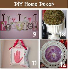 Do-it-yourself with these homemade projects that give major impact for a small budget #diy #decoration