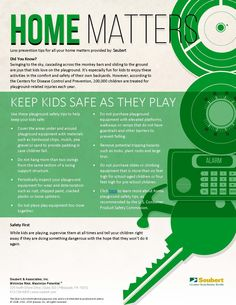 Home Matters: Keep Kids Safe As They Play