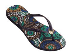 Havainas I just purchased for vacay. Name is Slim Turkish. So pretty