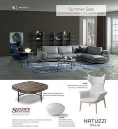 #summersale #natuzziitalia #furniture #sandysfurniture @sandysfurniturebc #familyowned