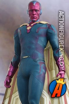 Hot Toys Age of Ultron The Vision 12-inch scale action figure.