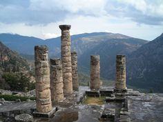 Beautiful Ruin in Greece.